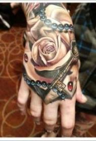 手背纹身图案 个性十足的手背纹身图案