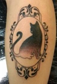 小动物纹身图案 多款小动物主题的纹身图案欣赏