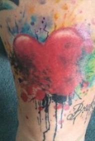 艺术彩绘 一组唯美且抽象的艺术纹身彩绘图案
