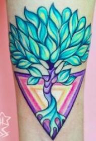 彩绘纹身图案 10款动物和植物的彩绘纹身图案