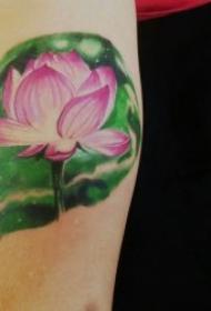 蓮花紋身圖案 多款漂亮形態各異的蓮花紋身圖案