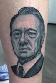 人物肖像纹身 10款各风格的人物肖像纹身图案