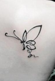 简易纹身简笔画 多款小清新纹身的简易纹身简笔画图案