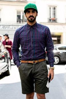 时尚欧美帅哥的9张街拍图片