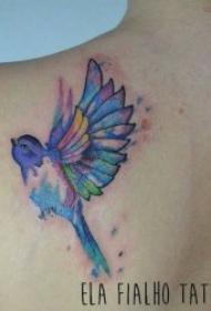 艺术纹身彩绘 唯美的一组艺术纹身彩绘图案
