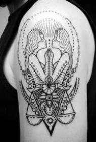 9張適合雙子座的紋身作品圖案