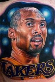 nba球星纹身图案   执着而又优秀的NBA球星科比纹身图案