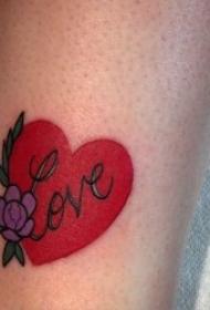 代表愛情的紋身圖案 多款代表愛情的紋身圖案