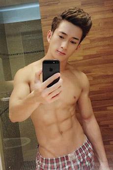 帅气中国男模sonnie nye肌肉照片