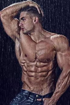 欧美肌肉男写真图片