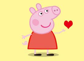 小猪佩奇一家人开开心心的在一起最重要