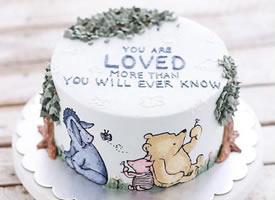 喜欢这样的生日蛋糕,精致到了每一个细节