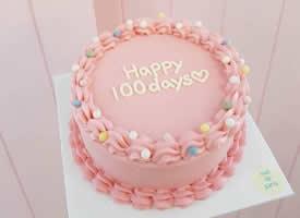 九款少女心超美的生日蛋糕图片欣赏