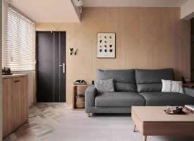 80m²现代简约,通透舒服装修效果图