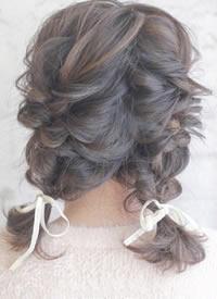 优雅的中长发盘发,手巧的妹纸们学起来吧