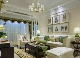 79.8平三室一厅装修效果图,舒服的色彩