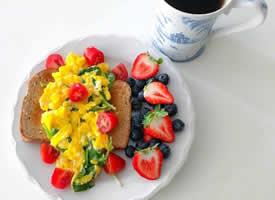 一组颜值超高的早餐图片欣赏