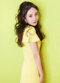 杨幂甜美俏丽时尚写真图片欣赏