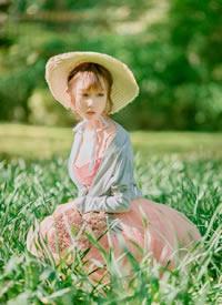 田园风清新少女可人养眼写真图片