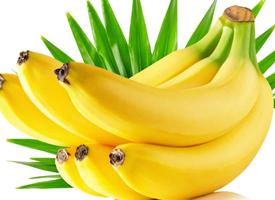 一组黄黄的香蕉特写图片欣赏