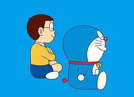 一組可愛的哆啦A夢藍胖子圖片欣賞