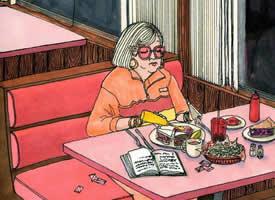 一个人的吃吃喝喝小日常 可爱卡通壁纸