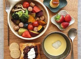 一组营养美味的早餐图片欣赏