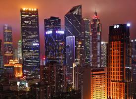 一组美丽的城市夜景高清图片欣赏