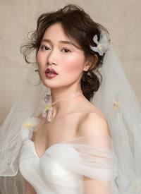 恍若微风拂面,为新娘增加更多少女情怀