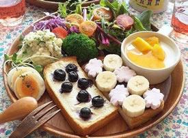一组超有营养的早餐图片欣赏