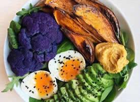 牛油果营养组合餐的减脂早餐图片欣赏