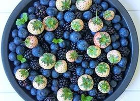 小仙女就要少吃肉多吃水果这样才能美美的