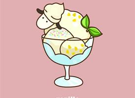 可爱卡通冰淇淋高清手机壁纸