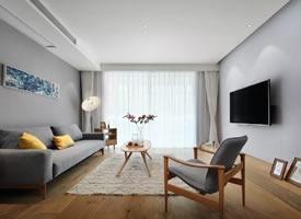 100平北欧原木风三居室,简约惬意又温暖舒适