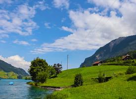 瑞士龙江湖唯美护眼图片桌面壁纸
