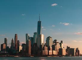 美國紐約城市建筑風景桌面壁紙