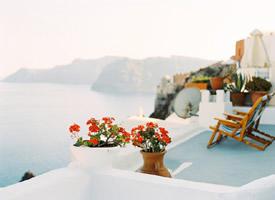 一组美丽的圣托里尼美景图片欣赏