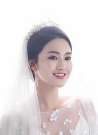 清新唯美的韩式新娘造型图片欣赏
