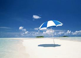 藍色大海唯美風景圖片桌面壁紙欣賞