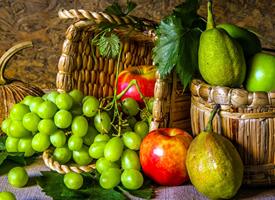 多彩水果美食图片桌面壁纸欣赏