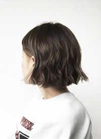 一组简单易打理的日系女生短发参考