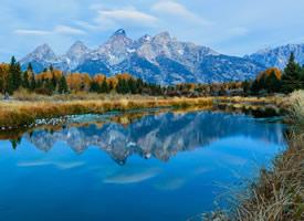 美國大提頓國家公園風景圖片欣賞
