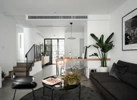 一组黑白灰色调家居装修效果图欣赏