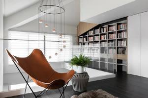 现代简约风LOFT空间,自然舒适的采光 