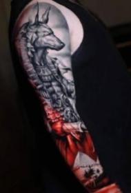 寫實手臂紋身 18款歐美寫實的手臂紋身作品圖片
