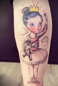 混搭插画纹身 18款混搭风格的插画纹身图片欣赏