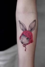 卡通風格的可愛小臂紋身小圖片