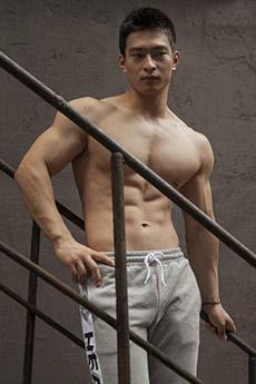 帅气的体育生肌肉男帅哥图片