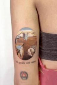 简约小清新的27款小花纹身图片