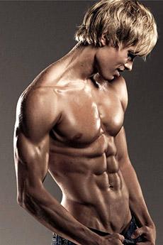 性感迷人的肌肉男壁纸图片